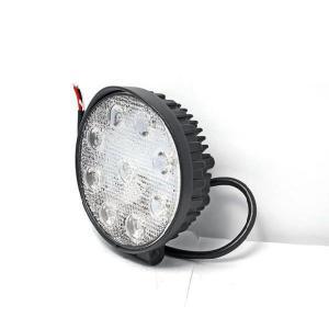 27W 9発LED作業灯 丸タイプワークライト広角 ハイパワー 白ホワイト 12v〜24vに対応 5個セット|sealovely777|02