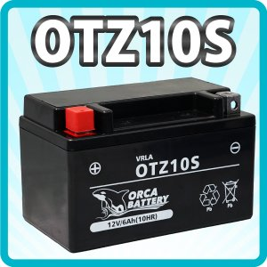 充電済みバイクバッテリーCTZ-10S ドラッグスター400 マジェスティ 4D9  1年保証|sealovely777