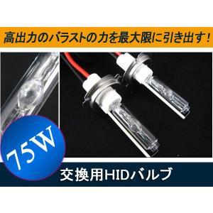 75W HIDバルブ H1/H3/HB3/HB4/H7/H8/H11/D2 バルブ2本 6000K8000K hidバーナー ヘッドライト1年保証