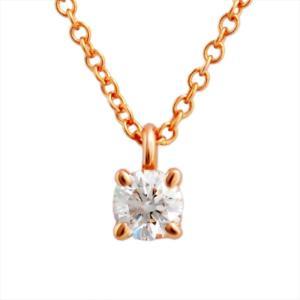 ティファニー レディース ネックレス TIFFANY&CO 30223942 ソリティア ダイヤモンド ペンダント 0.17ct 16in 18KRG ネックレス 送料無料|sears-collection