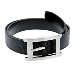 ベルト メンズ ブルガリ BVLGARI 23380 BLACK ベルト メンズ プレゼント ギフト 贈り物 送料無料|sears-collection
