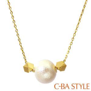 ネックレス レディース C-BA STYLE (シーバスタイル) 〜First ファースト〜 ゴールドカラー  メール便 送料無料 クリスマス ギフト|sears-collection