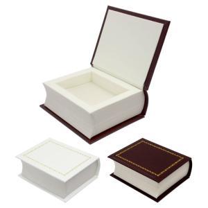 ジュエリーケース ネックレス ペンダント リング 指輪 ピアス ケース 箱 バイブル ブック型 BOX アクセサリー 用品 ga-080 ギフト 送料無料|sears-collection