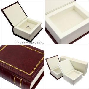 ジュエリーケース ネックレス ペンダント リング 指輪 ピアス ケース 箱 バイブル ブック型 BOX アクセサリー 用品 ga-080 ギフト 送料無料|sears-collection|02