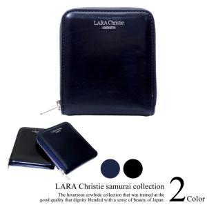 短財布 LARA Christie ララクリスティー samurai ラウンド ジップ 二つ折り ウォレット 送料無料 sears-collection