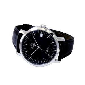 ウォッチ LARA Christie ララクリスティー グレース 腕時計 メンズ BLACK Label|sears-collection