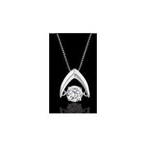 K10ゴールド  天然ダイヤモンド 0.1ct ダンシングストーン ネックレス WG・PG・YG 選べる3カラー 送料込|sears-collection