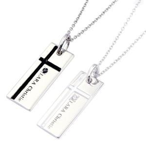 ペアネックレス LARA Christie ララクリスティー ノーブル クロス PAIR Label p3051-p 誕生日プレゼント|sears-collection|02