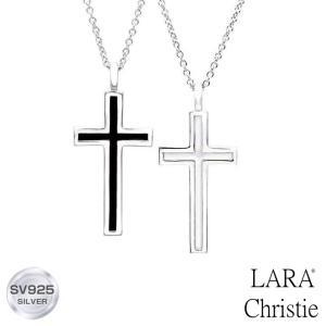 ペアネックレス LARA Christie ララクリスティー レールクロス PAIR Label p3190-p 誕生日|sears-collection