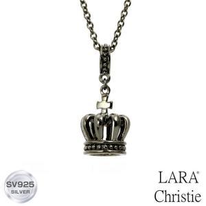 ネックレス メンズ LARA Christie ララクリスティー ラコロナ BLACK Label p5721-b 送料無料|sears-collection