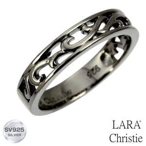 リング 指輪 シルバー LARA Christie ララクリスティー ランソー [ BLACK Label ] r6028-b 送料無料 誕生日 プレゼント ギフト|sears-collection
