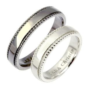 ペアリング 指輪 ペア ブランド LARA Christie ララクリスティー ギャラクシー PAIR Label r6030-p|sears-collection