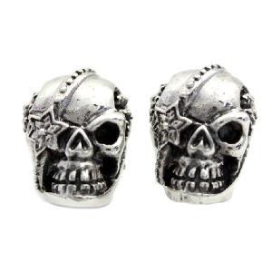 ピアス シルバーアクセサリー シルバー メンズ レディース Royal Joker ロイヤルジョーカー キングスカル(king skull) rje-0008 誕生日 ギフト プレゼント|sears-collection