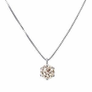 ネックレス レディース ダイヤモンド 1粒 0.3ct プラチナ PT900 ネックレスケース 鑑別書付属 Sears (シアーズ)|sears-collection