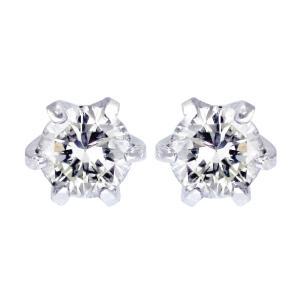 ピアス レディース Velsepone(ベルセポーネ) PT900 プラチナ ダイヤモンド 0.1ct Hカラー 送料無料 ve-hi01ct-pt (J-1) sears-collection