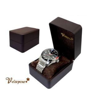 腕時計用ケース 腕時計 ウォッチ 収納ボックス ジュエリーボックス Velsepone ベルセポーネ ブランド シンプル 送料無料