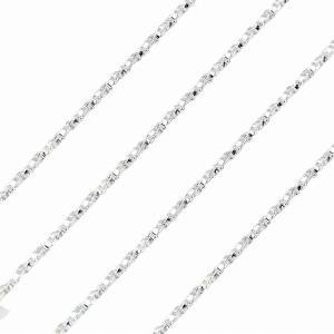 シルバーチェーン ネックレス ツイストベネチアンチェーン シルバー 925 長さ 40/45/50cm 送料無料 ネコポス便|sears-collection|04
