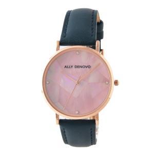 アリーデノヴォ ALLY DENOVO AF5003.9 ガイアパール レディース 腕時計