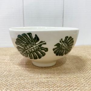 モンステラのお茶碗 おしゃれなハワイアン食器 ペア お祝い seashells-zakka