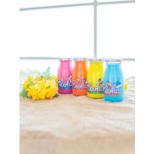 カラフルジェルフレグランス ハワイアン芳香剤 かわいいネオンカラー 車用 トイレ|seashells-zakka