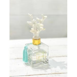 コーラルデザインディフューザー ホワイトムスクの香り プレゼント ルーム おしゃれなハワイアン雑貨|seashells-zakka