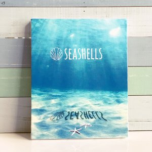 フォトキャンバスLサイズ DEEP SEA|seashells-zakka