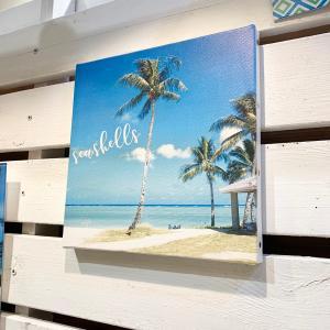 リゾートビーチピクチャーキャンバス|seashells-zakka