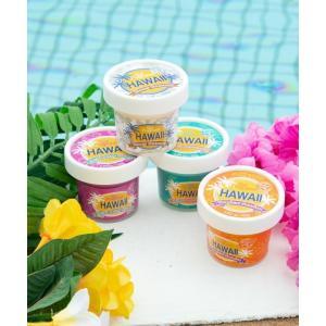 ハワイアンフレグランス おしゃれなアイスカップデザイン かわいいパッケージ 常夏の香り 南国フルーツ 芳香剤|seashells-zakka