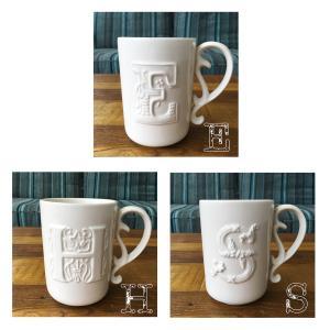 イニシャル マグ マグカップ ハワイ コーヒーカップ ティーカップ E H S seasky