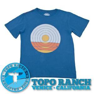 TOPO RANCH Tシャツ SUNDROP TEE  メ...
