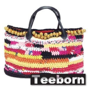 Teeborn トートバック kaleidoscope Multi Color マルチカラー レディース|seasons-style