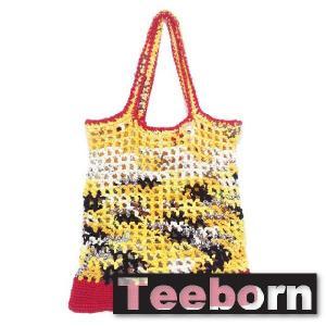 Teeborn BIGトートバック Netnetbag-BIG Yellow イエロー 黄色 レディース|seasons-style