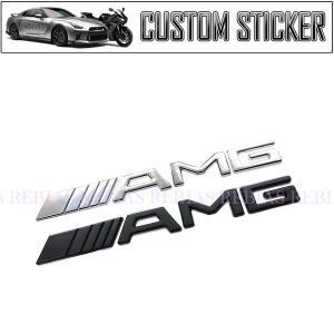 AMG オールド エンブレム カスタム ステッカー 旧型 ロゴ 分離 タイプ 外車 BENZ ベンツ...