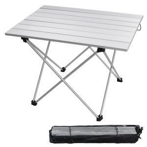 安定して長持ち:テーブルが高強度の航空レベルのアルミニウム合金から製造されて、さびを防いて、熱さに強...