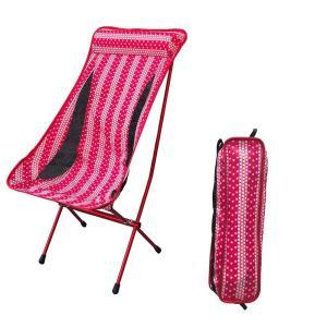 アウトドアチェア 折りたたみ 軽量 コンパクトキャンプお釣りハイバックタイプ レジャー 椅子 耐荷重...