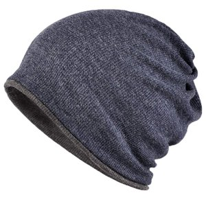 WOOSOO ニット帽 ネックウォーマー多機能 防寒 アウトドア ロールアップ ビーニー 両面使用 ...