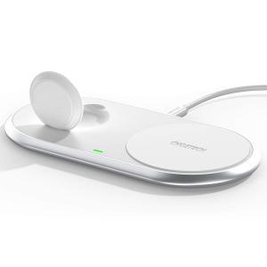 Qiワイヤレス充電器 アップルウ ォッチ充電器 CHOETECH【2020最新版・2in1・MFI認...