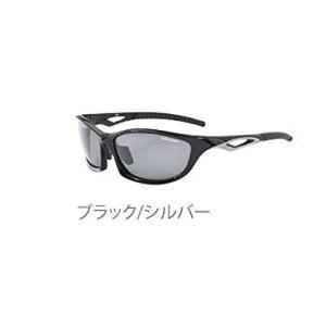 エレッセ スポーツサングラス メンズ 偏光レンズ ES-S203H ブラック/シルバー