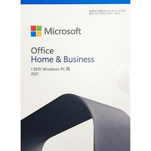 新品未開封 国内正規版  Microsoft Office Home and Business 2013 OEM版