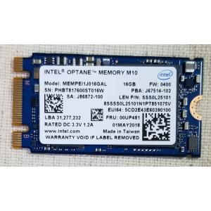 Intel Optane メモリー 16GB M10 PCIe M.2 2242 中古良品 Memory MEMPEI1J016GAL FRU 00UP481 second-mobile