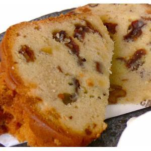 フルーツパウンドケーキ(1本) *レーズンとくるみ、オレンジピールがたっぷり *国産小麦、手づくり、保存料 不使用 secondhouse-cw
