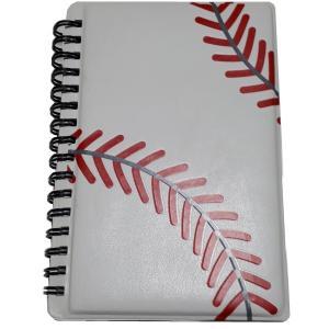 野球作戦ノート(メモ帳) A6サイズ 4冊 secondlives