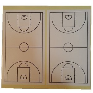 バスケットボール コートステッカー 40面入り secondlives