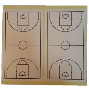 バスケットボール コートステッカー 50面入り secondlives