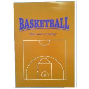 バスケットボール 戦略レポート用紙 ハーフコート secondlives