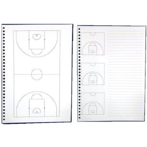 バスケットボール 戦略ルーズリーフ2点セット (オールコート+ハーフコート)|secondlives