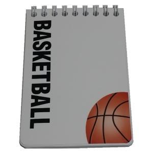 スポーツ戦略ハンディメモ帳 バスケットボール 5冊|secondlives