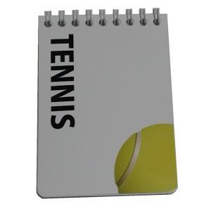 スポーツ戦略ハンディメモ帳 テニス 10冊|secondlives