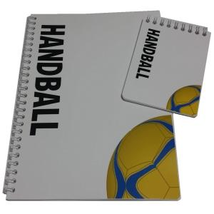 ハンドボールノート2点セット スポーツノート(Wリングノート)+戦略ハンディメモ帳 secondlives