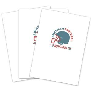 ドリームエイド アメリカンフットボールノート B5 3冊 |secondlives